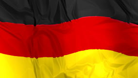 Flag of Germany waving stock footage