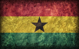 Flag of Ghana Stock Images