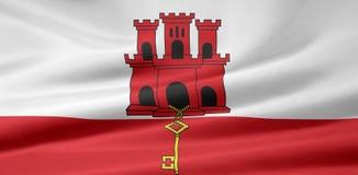 Flag of Gibraltar royalty free stock image