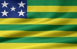 Flag of Goias Royalty Free Stock Photos
