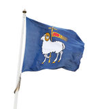 The flag of Gotland Royalty Free Stock Images
