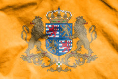 Flag of Grand Duke of Luxembourg. Royalty Free Stock Photography
