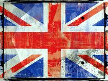 Flag of  Grat Britain Stock Photography