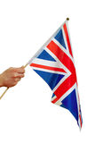 Flag of Great Britain. Stock Photos