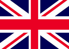 Flag Of The Great Britain. Official symbol of the state vector illustration Stock Images