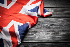 Flag of Great Britain. Flag of the United Kingdom of Great Britain and Northern Ireland Royalty Free Stock Photo