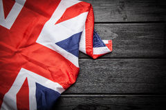 Flag of Great Britain. Flag of the United Kingdom of Great Britain and Northern Ireland Royalty Free Stock Image