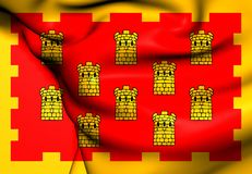 Flag of Greater Manchester, England. Royalty Free Stock Photos