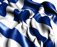 Flag of Greece Stock Photography