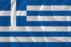 Flag of Greece Background vector illustration