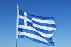 Flag of Greece Royalty Free Stock Photos