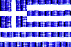Flag greece Royalty Free Stock Photography