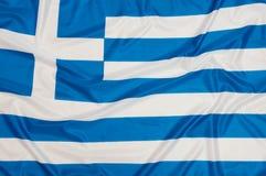 Flag Greece. Close up of Greek Flag stock image