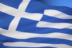 Flag of Greece - Europe Stock Images