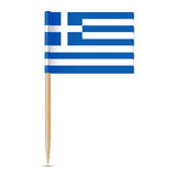 Flag of Greece. Flag toothpick 10eps Royalty Free Stock Photography