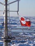 Flag of Greenland stock images