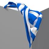 flag greken Royaltyfri Foto
