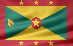 Flag of Grenada Royalty Free Stock Photography