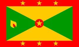 Flag of Grenada Stock Photography