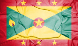 Flag of Grenada. Royalty Free Stock Photography