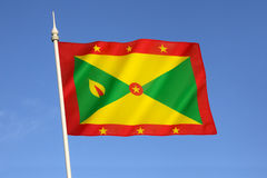Flag of Grenada Royalty Free Stock Images