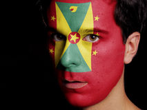 Flag of Grenada Stock Photos