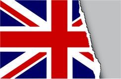 flag grunge kingdom united Διανυσματική απεικόνιση