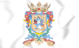 Flag of Guanajuato, Mexico. Royalty Free Stock Images