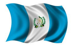 Flag of Guatemala Stock Photo