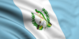 Flag Of Guatemala Stock Photography