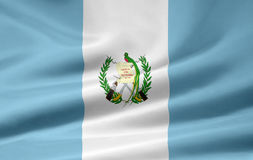 Flag of Guatemala Royalty Free Stock Photos