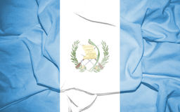Flag_of_Guatemala1 库存图片