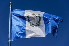 Flag of Guatemala Stock Photography