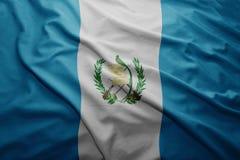 Flag of Guatemala Royalty Free Stock Image