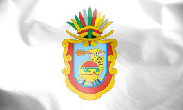 Flag of Guerrero, Mexico. Stock Image