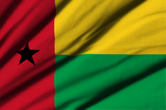 Flag of Guinea Bissau Stock Photography