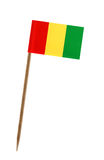Flag of Guinea Stock Photography