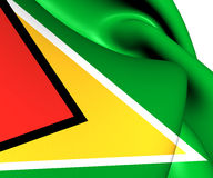 Flag of Guyana Stock Photos