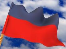 Flag. Haiti Stock Photo