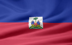Flag of Haiti Royalty Free Stock Photo
