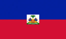 Flag of Haiti Stock Image