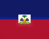 Flag of Haiti Royalty Free Stock Images