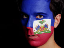 Flag of Haiti Stock Photography