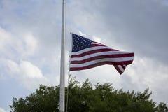 Flag at Half Mast Stock Photos