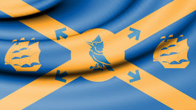 Flag of Halifax, Canada. Royalty Free Stock Photography