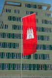 Flag of Hamburg Stock Images