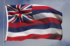 Flag of Hawaii Royalty Free Stock Photo