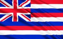 Flag of Hawaii USA, Honolulu - Polynesia vector illustration