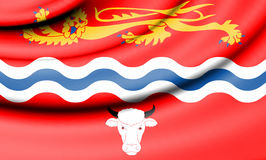 Flag of Herefordshire, England. Royalty Free Stock Photography