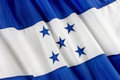 Flag of Honduras Royalty Free Stock Photography